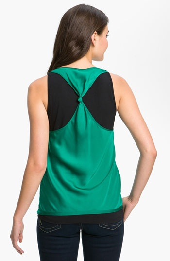 DKNYC Knot Back Layered Tank available at #Nordstrom
