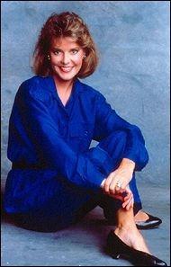 Amanda Bearse in Blue