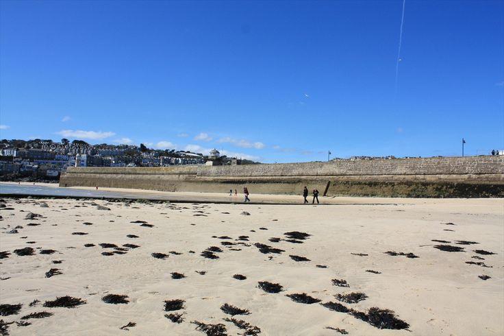 Breakwater Beach St Ives Cornwall