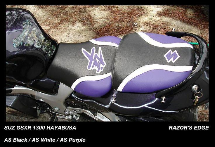 99-07 Hayabusa Suzuki GSXR 1300 RAZOR'S EDGE Line Sport Bike Seat Cover #seatcovers #motorcycle