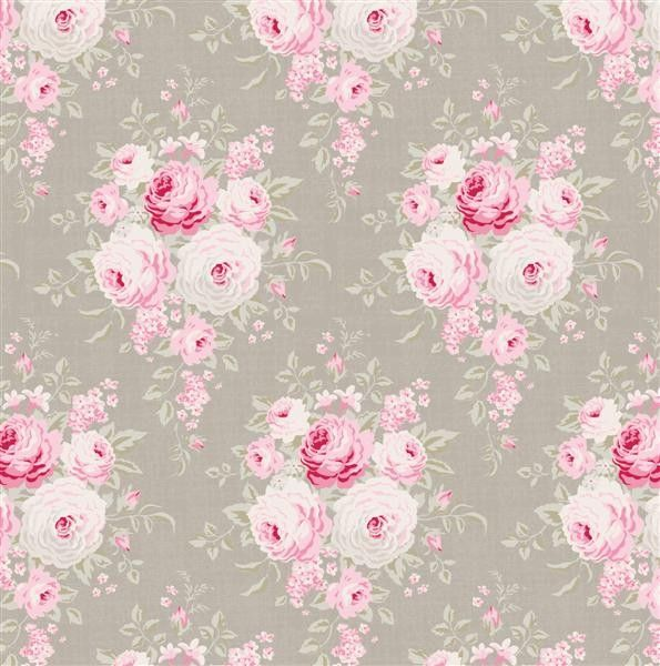 Tilda Sweet Christmas Fabric - Laura Warm Grey