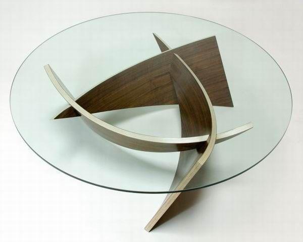 Tolle Couchtisch Glas Rund Design
