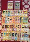 1999-2002 Pokemon Black Star Promo Lot (41) Birthday Pikachu PSA 10 GEM Holos NM