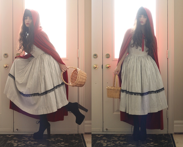 red riding hood costume inspiration