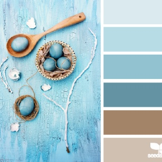blues and browns. ♥Palettes