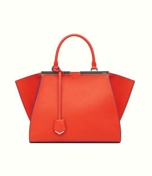Fendi 3Jours in poppy red
