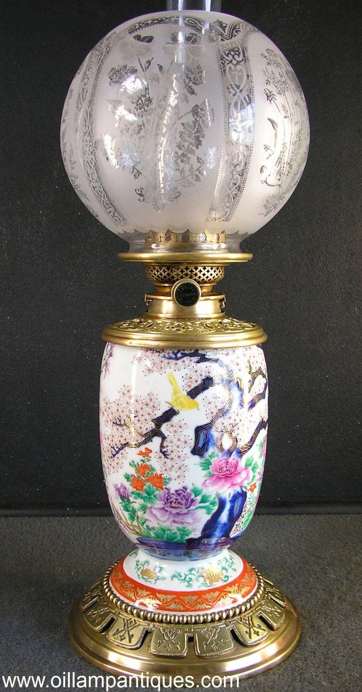 Regent antiques lights antique victorian oil lamp c 1860 - Covell Duplex Oriental Vase Lamp Oil Lamp Antiques Hinks Duplex Burner Antique Lampsantique