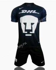 2017-18 Pumas UNAM Dark Blue Soccer Uniform
