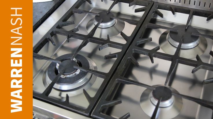 how to clean gas stove burner holes