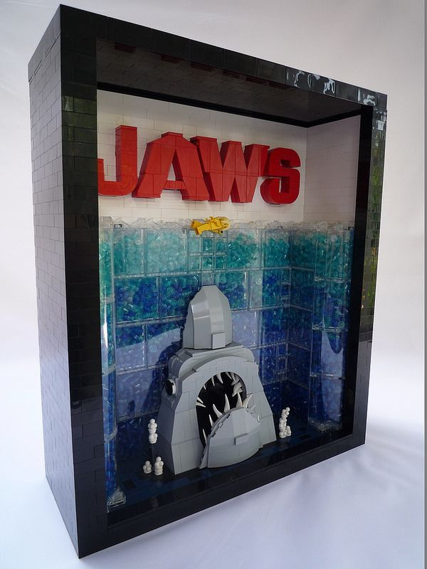 LEGO Jaws Movie Poster | by Chris 'Lucifer' Adams
