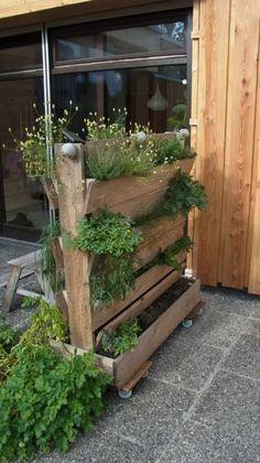 diy flowerbox divider for your balcony garden toller balkongarten zum selbstmachen http - Trennwand Garten Selber Bauen