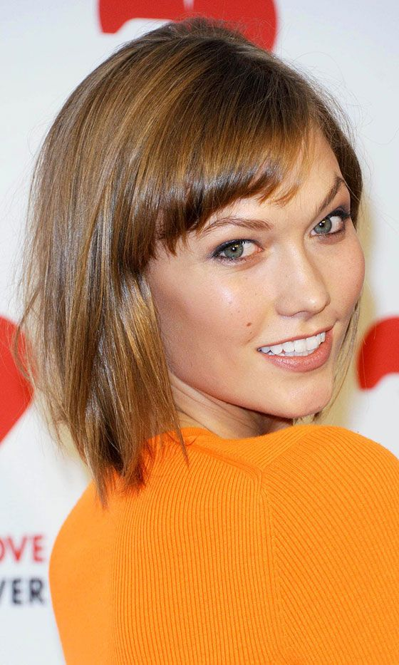Karlie Kloss' Glossy Brown Bob At The 'God's Love We Deliver' Awards, 2013 | Look