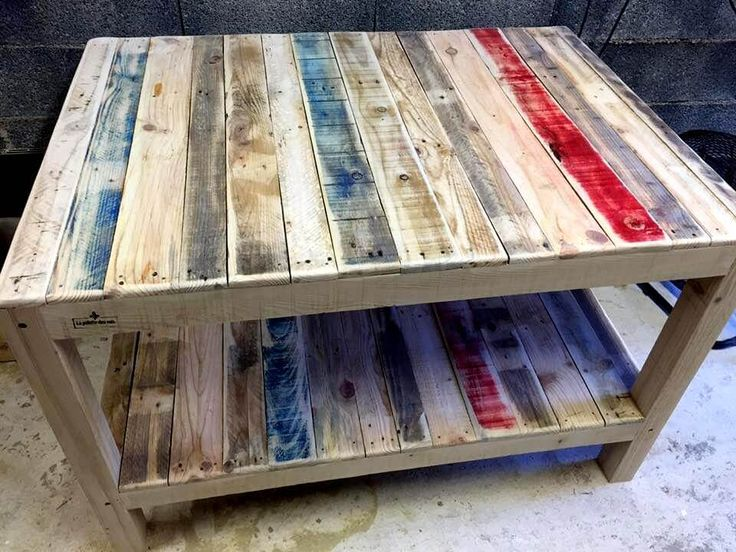 Big Size Pallet Coffee Table