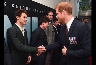 Prince Harry Shows Some Love for Harry Styles
