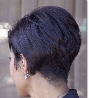 wedge haircut back view 1000 images about wedge bobs on bobs for 2476