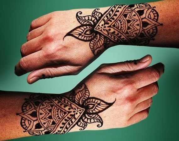 Henna Tattoo How Long Does It Last : Trending mehndi designs latest henna tattoo ideas for