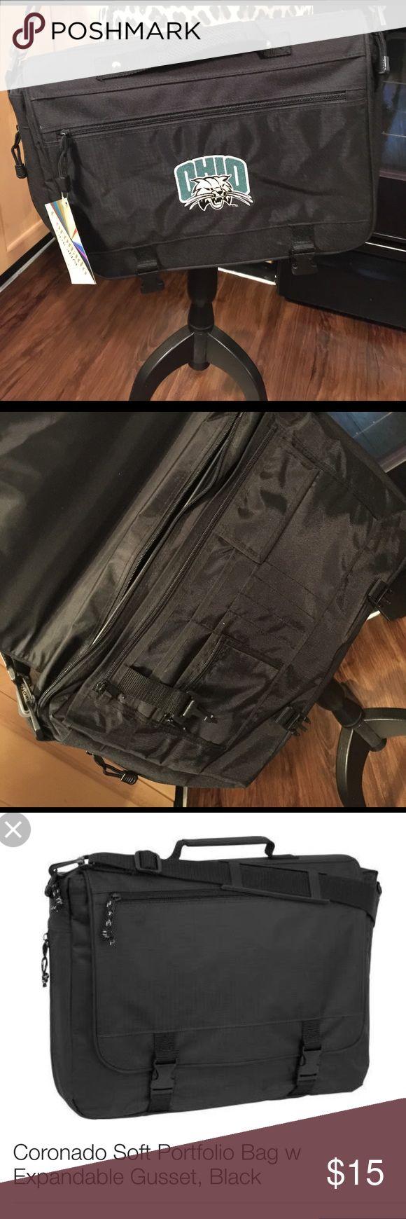 Ohio University Messenger Bag Brand new. Expandable. Bags Laptop Bags