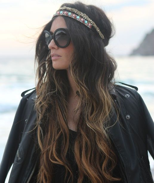 Hippie ombre waves - love it