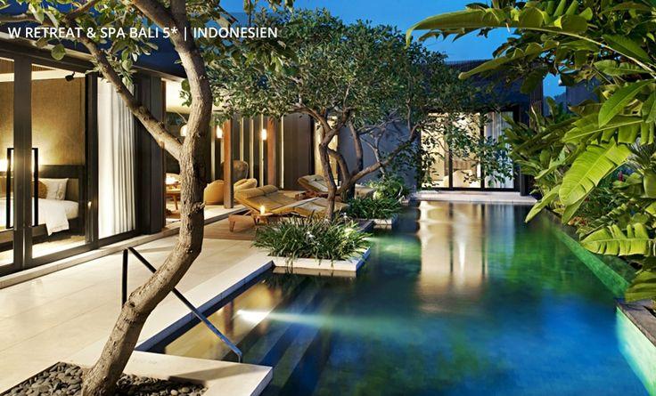 W RETREAT & SPA BALI 5* │ INDONESIEN Zwei-Schlafzimmer-Villa mit privatem Pool