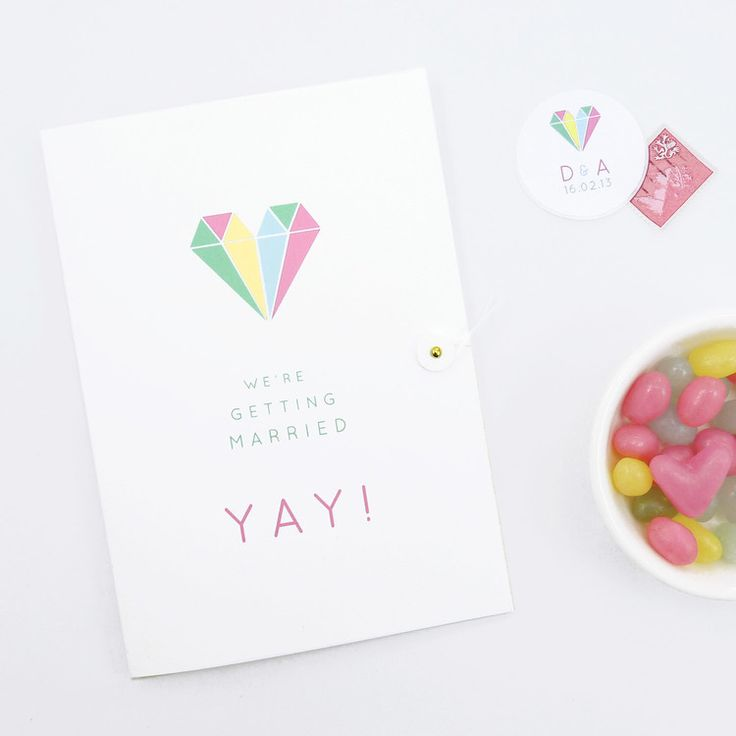 Style & Joy 'yay' wedding invitations