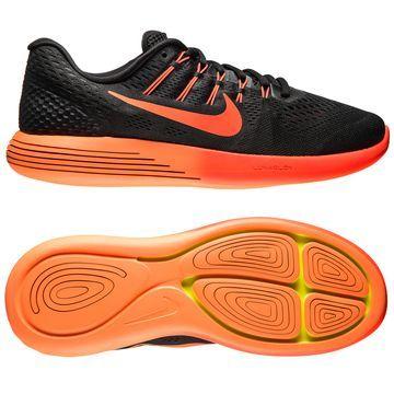 Nike Løbesko LunarGlide 8 Sort/Orange