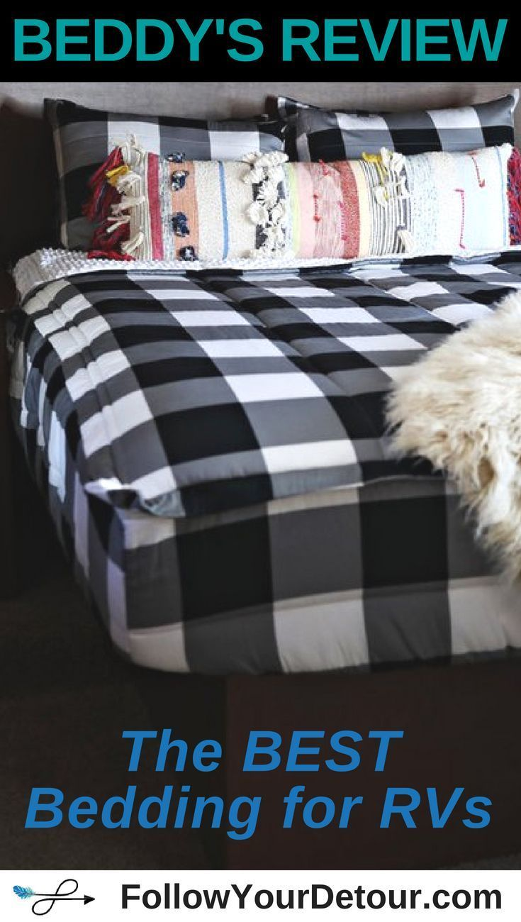Product Review Beddy S Rv Bedding Rv Bunk Beds Camper