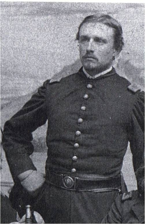 Captain Robert Gould Shaw, 2nd Massachusetts Infantry - Tragically killed in battle at age 23