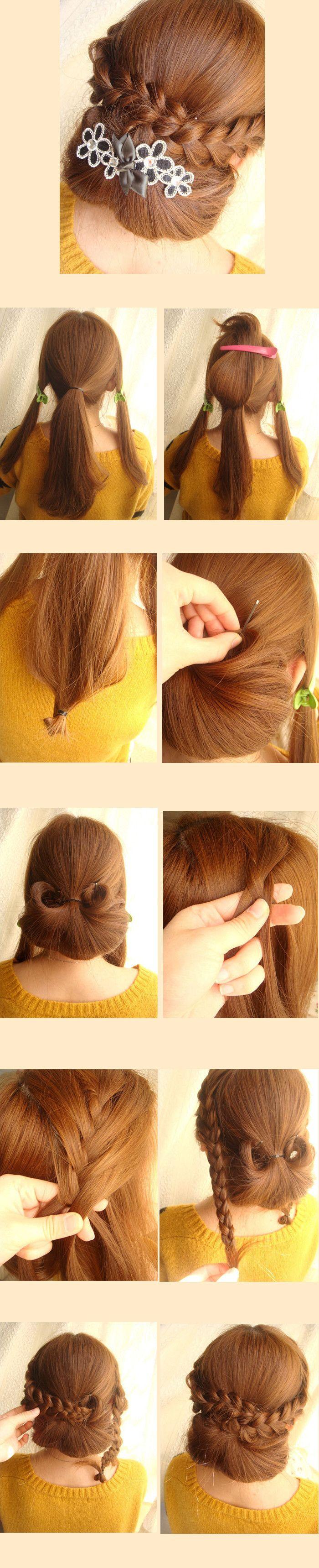 best braids images on pinterest hair dos braided