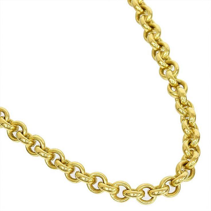 Pomellato 18k Yellow/White Gold Chain Necklace