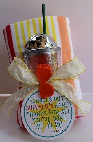 End of School Teacher Gift // Kutz, Paper, Scissors