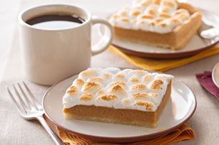 Sweet Potato Pie Bars Recipe - Kraft Recipes