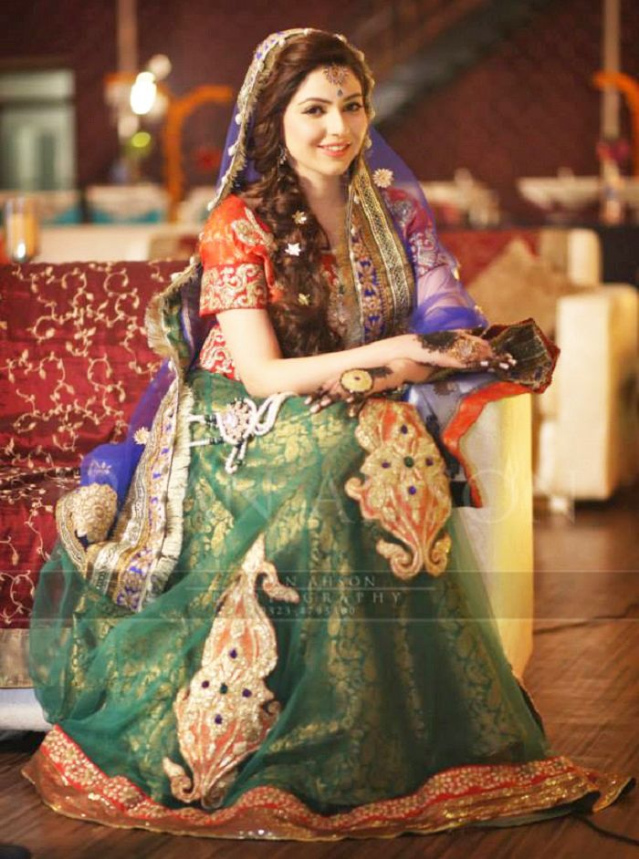 Latest Bridal Mehndi Dresses Collection 2016-2017 | BestStylo.com