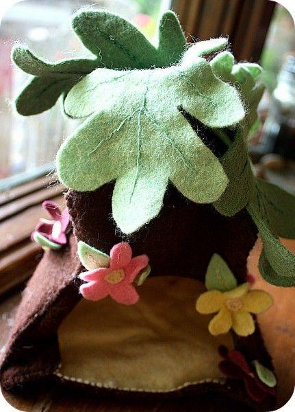 felt fairy house (wip) - 5 Orange Potatoes | 5 Orange Potatoes