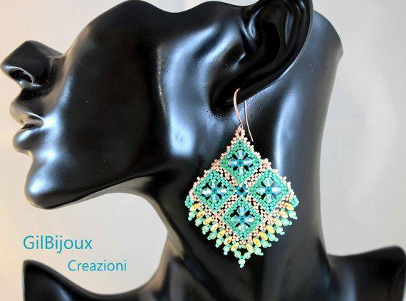 Orecchini Melody con cristalli Swarovski miniduo di GilBijoux