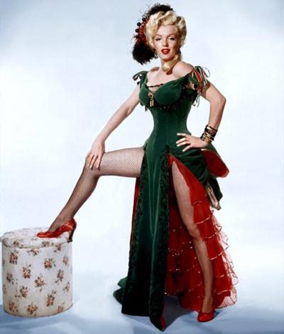 Marilyn Monroe - Saloon Girl - River of No Return