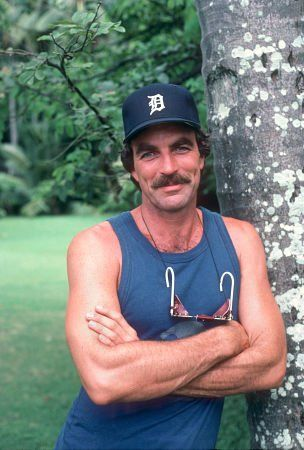 Magnum PI. Thought he was so hunky! (married a hunky man similar)