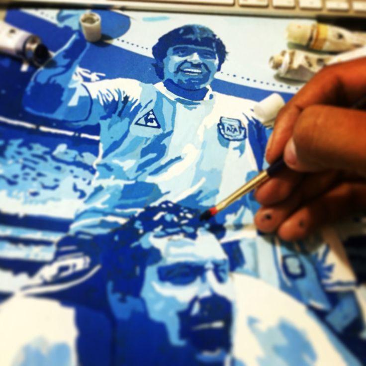 Maradona Mundial del 86