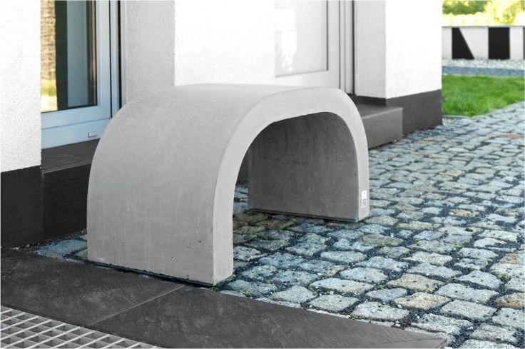 Nowoczesna ławka parkowa betonowa - Modern Line