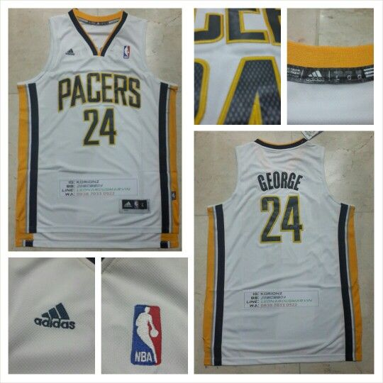 READY STOCK ! READY STOCK!!  JERSEY BASKETBALL NBA INDIANA PACERS PUL GEORGE #24 SWINGMAN REVO30 FOR SALE INTERESTED?  FOLLOW US @KORIONZ  CONTACT US! BB 28BCBB04 LINE LEONARDUSMARVIN WHATSAPP +62-838-7033-0922