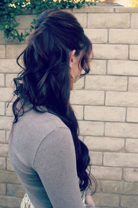 How to: Half up Hairstyle (Ma Nouvelle Mode) Adorable holiday hair! :)