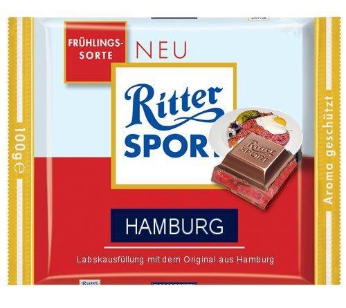 RITTER SPORT Fake Schokolade Hamburg