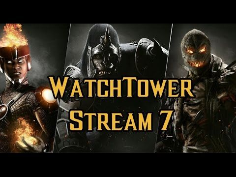 Injustice 2 Watchtower Stream with Gorilla Grodd Firestorm and Scarecrow! [Video] #Playstation4 #PS4 #Sony #videogames #playstation #gamer #games #gaming