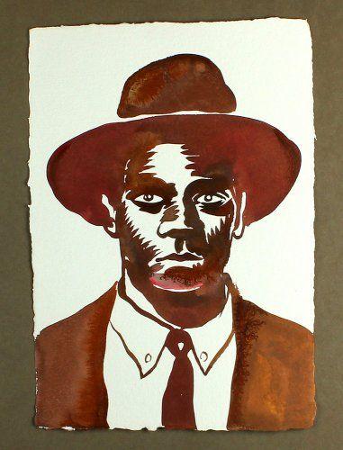 #NicolasVial - Portraits Chapeaux - Portrait Chapeau 8 - #GalerieW