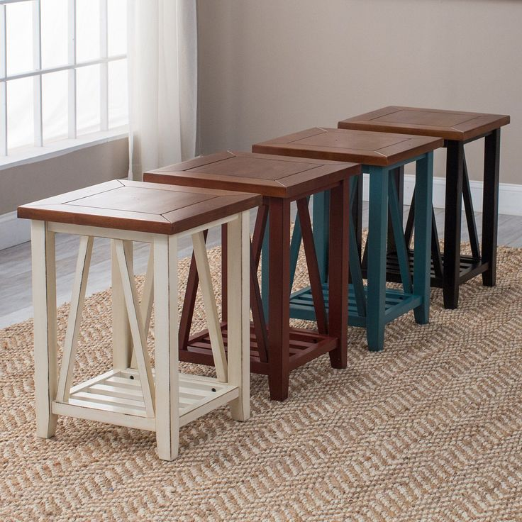 Belham Living Ally End Table - Depending on the base color you choose for your Belham Living Ally End Table , this piece is ideal for those who prefer transitional, cottage, rustic,...