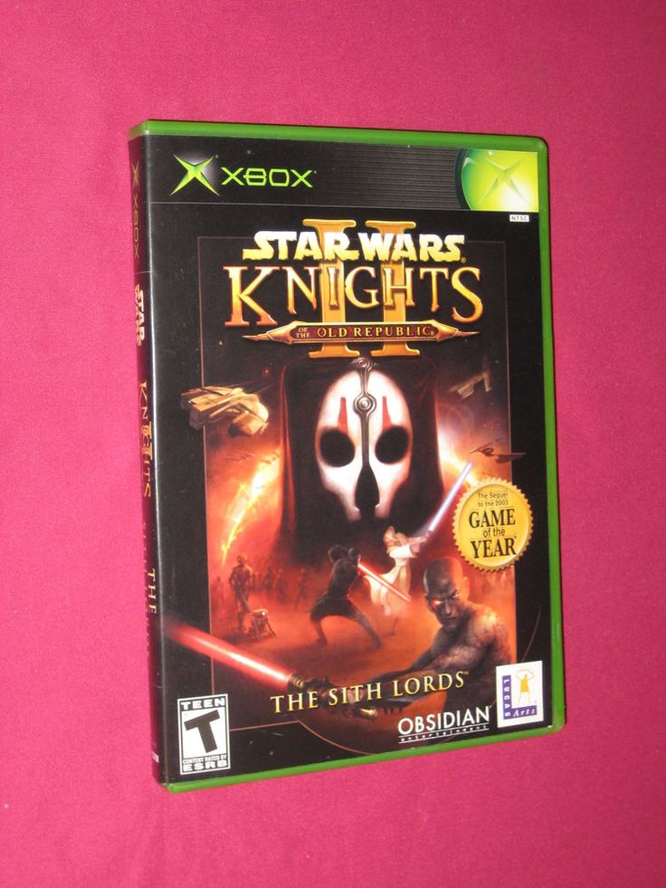 Star Wars Knights of the Old Republic II The Sith Xbox Original Game Complete
