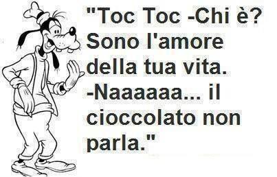 L'#amore della tua vita... il #cioccolato! #Pippo #Goofy