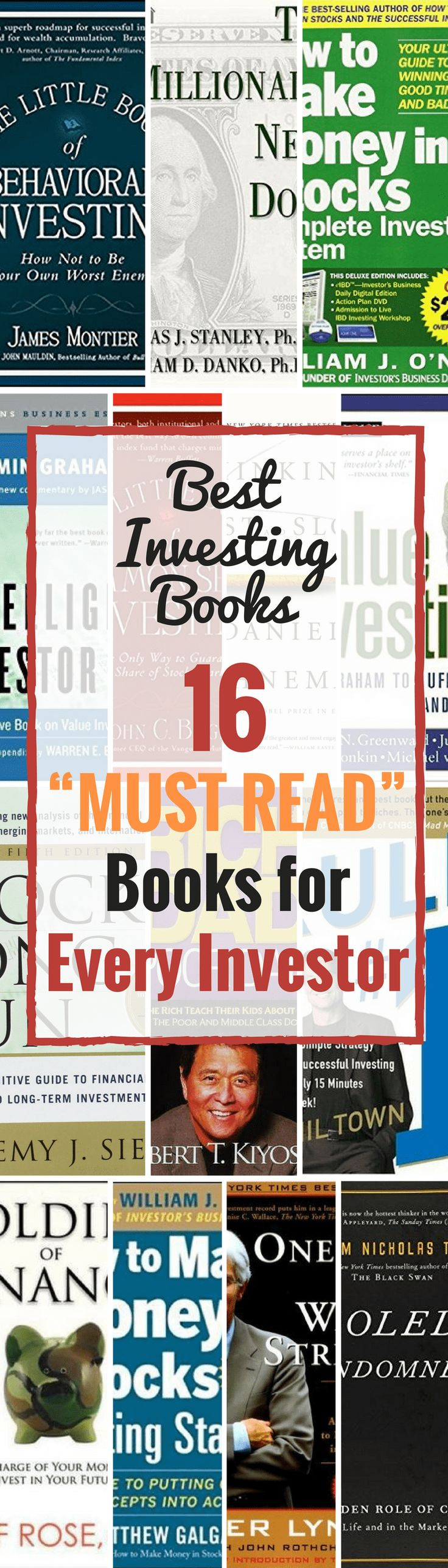 "Best Investing Books: 16 €�must Read"" Books For Every Investor"