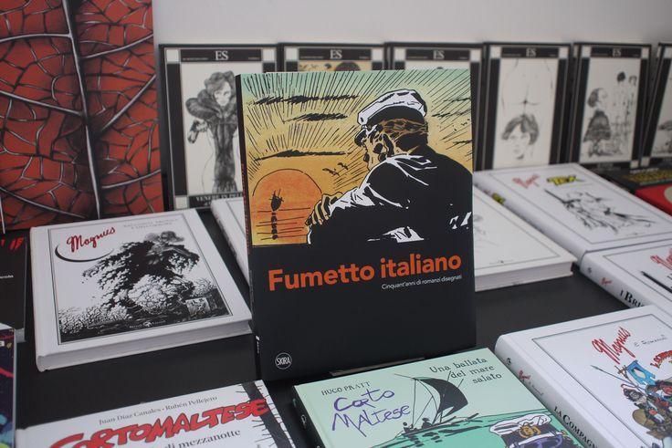 """Catalogo (edito da Skira) mostra """"Fumetto italiano. Cinquant'anni di romanzi disegnati"""", fino al 24 aprile al Museo di Roma in Trasetevere www.romanzidisegnati.it"""