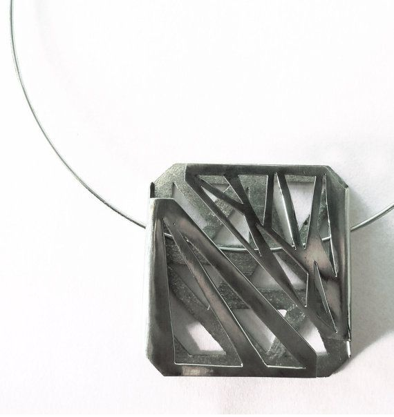 Bipolar Mood Sterling Silver Necklace by AnaBragancaJewellery