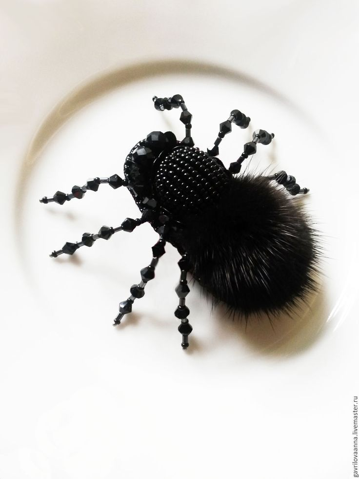 """Брошь """"Бельгийский паук"""" - Anna Gavrilova - Ярмарка Мастеров http://www.livemaster.ru/item/16074741-ukrasheniya-brosh-belgijskij-pauk"""